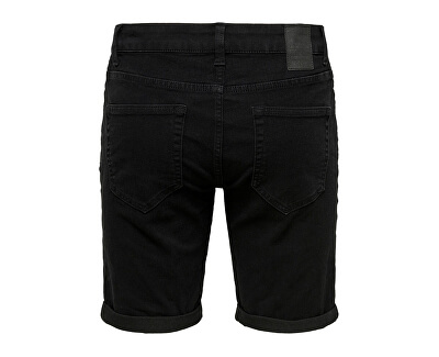 Herrenshorts ONSPLY LIFE SLIM BLACK PK 5139 Black Denim