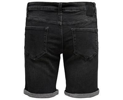 Férfi rövidnadrágok Ply Ld Black mosott Pk 2443 Black Denim