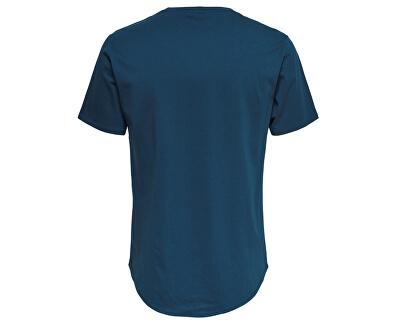 Pánske triko Matt Long y SS Tee Noosa Majolica Blue