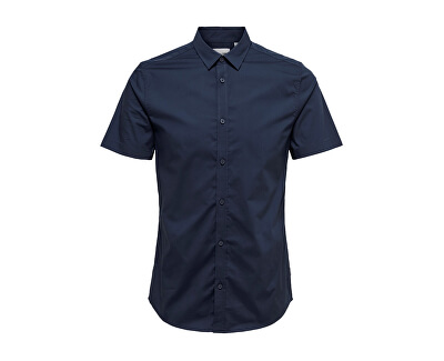 Alfredo SS Shirt Noos Dress Blues
