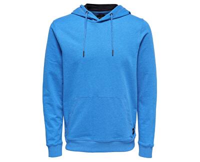 Pánska mikina Basic Sweat Hoodie Unbrushed Noos Imperial Blue