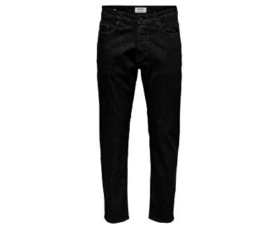 Pánske džínsy onsAVI BLACK DCC 4379 Black Denim
