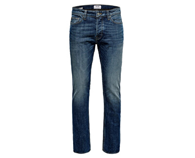 Pánske džínsy ONSWEFT WASHED DCC 3614 Noosa Blue Denim