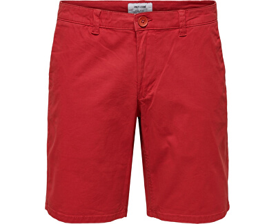 Pánské kraťasy onsCAM SHORTS PK4978 Pompeian Red