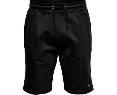Herrenshorts ONSNEIL SWEAT SHORTS Black