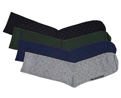 Pánske ponožky Niko Dots Socks 4-Pack Noos Black