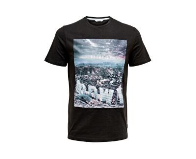 Pánske tričko Lamani Camp SS Fitted Tee Phantom