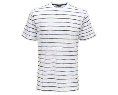 Pánske tričko Leonard Stripe Ss Tee White