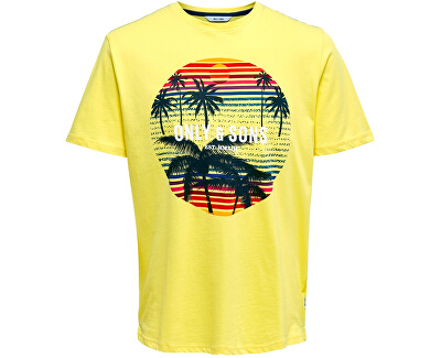 Herren T-Shirt ONSCALM SLIM SS TEE light