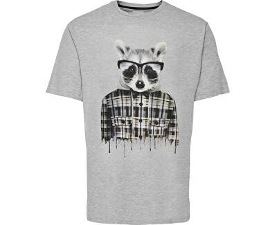 Herren T-Shirt  ONSNOTHING REG SS TEE 5e6b8d1447adb Melange