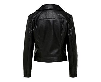 Dámska bunda ONLENYA faux LEATHER BIKER CC OTW Black