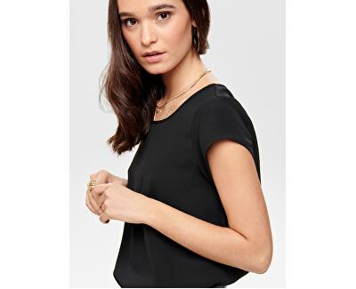 Damă Vic Bluză Solid Top Noos Wvn Black