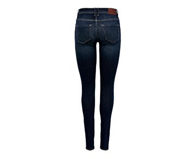 Dámske skinny džínsy ONLSHAPE 15180740 Dark Blue Denim