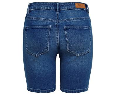 Dámske kraťasy Corin Midwaist Dnm Shorts Mox Bj Medium Blue Denim