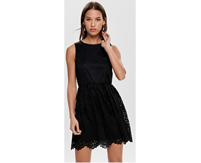 Dámske šaty Edith S/L Dress Jrs Noos Black