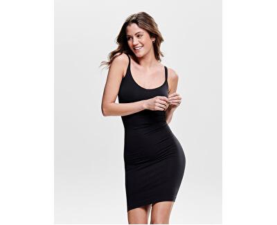 Dámske šaty Vicky Basic Long Top Acc Black