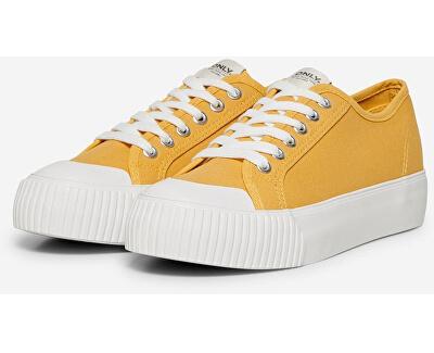 Dámske tenisky Saloni Plain Canvas Sneaker Sunshine