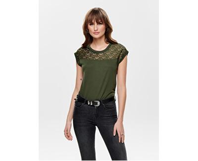 Tricou pentru femei ONLNICOLE S / S MIX TOP NOOS Crocodil