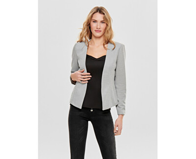 Dámsky blejzer Con Anna Short Blazer Tlr Cloud Dancer Black