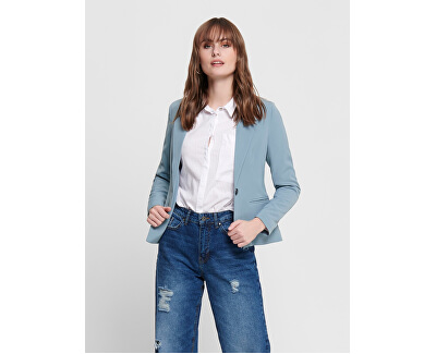 Női blézer ONLSELMA-ASTRID L/S FITTED BLAZER CC TLR Faded Denim