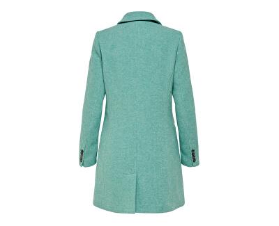 Dámsky kabát ONLCARMELITA WOOL COAT OTW Green - Blue Slate