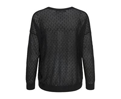 Dámsky sveter New Oda L/S V-neck Cardigan Knt Black