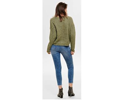 Dámsky sveter ONLCHUNKY L / S Pullover KNT Desert Sage