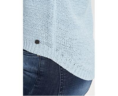 Pulover de damă ONLGEENA XO L / S PULLOVER KNT NOOS Blue Cashmere