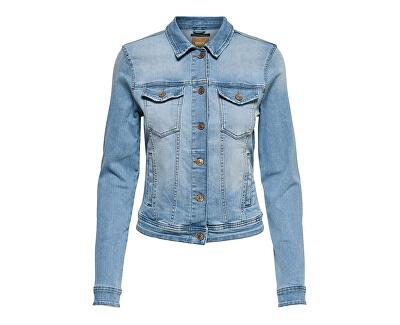 Jachetă pentru femei ONLTIA LIFE DNM JACKET BB LB BEX179 NOOS Light Blue Denim