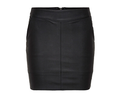 Dámska sukňa Base Faux Leather Skirt OTW Noosa Black