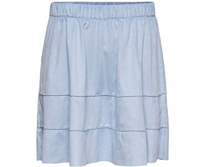 Frauenrock ONLCARMA FAUX SUEDE SKIRT OTW NOOS Cashmere Blue