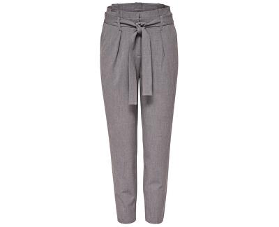 Dámské kalhoty Nicole Paperbag Ankle Pants Wvn Noos Light Grey