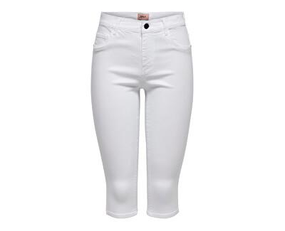 Damenhose ONLRAIN 15138896 White