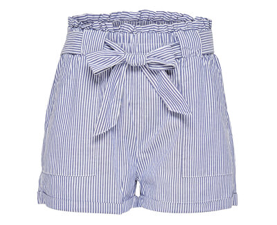Damen Shorts ONLSMILLA STRIPE BELT DNM SHORTS NOOS Medium W/STRIPES