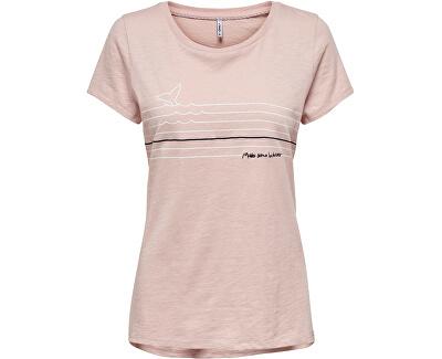 Damen T-Shirt Rose