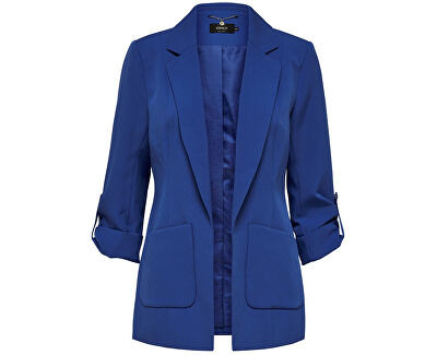 Bluza pentru femei ONLKAYLA 3/4 ANNA BLAZER PNT Dazzling Blue