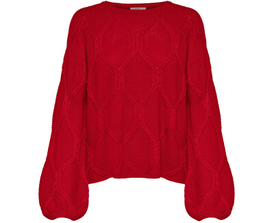 7602d2ea832 ONLY Dámský svetr Felina L S Pullover KNT Goji Berry