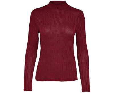 ONLY Dámský svetr Jdyjamie L/S High Neck Top Jrs Biking Red