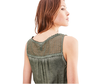 Rochie verde scurtă pentru dame