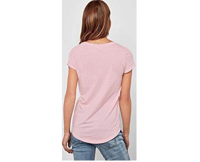 Dámské triko 41.802.32.4760-Light Pink Placed Print