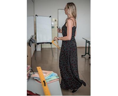 Rochie lungă cu model