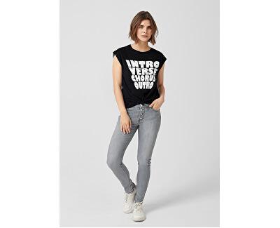 Női póló 41.903.32.5106 . 99D0 Black Placed Print