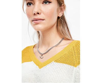 Női pulóver 46.002.61.2779 .15G0 Golden yellow stripes