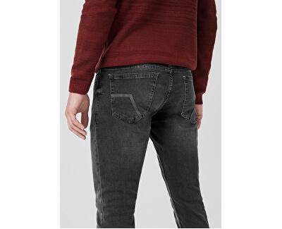 Pánské kalhoty 44.899.71.3125.94Z4 Grey Denim Stretch