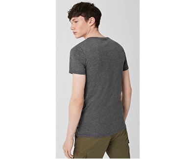 Pánske tričko 40.906.32.5346.9897 Black Grey