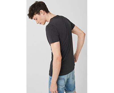 Pánske tričko 40.906.32.5353.9897 Black Grey