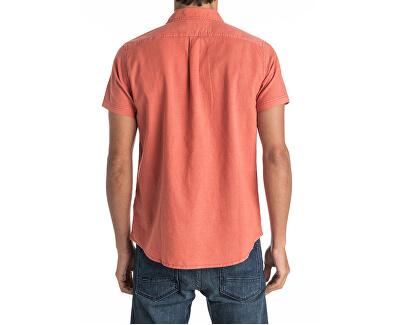 Shirt pentru bărbați Time Box Burnt Sienna EQYWT03444-NMH0