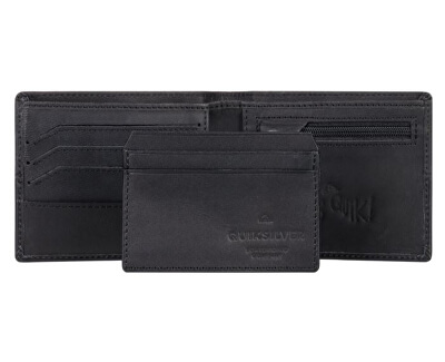 Pánská kožená peněženka Desertruker Black EQYAA03811-BLK