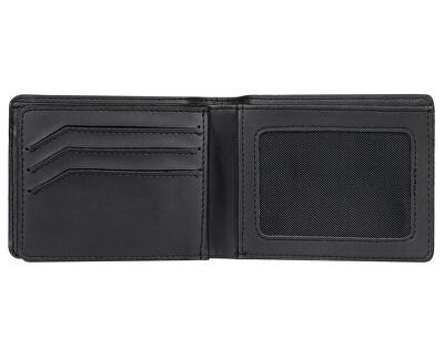 Pánská kožená peněženka Mack IX Black Black EQYAA03813-KVJ0