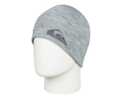 Pánská oboustranná čepice M&W Beanie Light Grey Heather EQYHA03199-SGRH